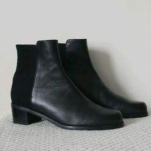 Stuart Weitzman Leather Ankle Boots, Size 8